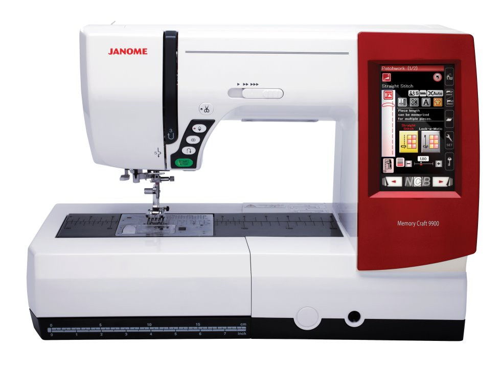 JANOME MC 9900 inkl. Digitizer MBX V 4.5