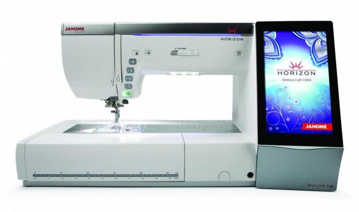 JANOME Horizon Memory Craft 15000 Version 2  NÄHMASCHINEN  ~ Nähmaschine Center