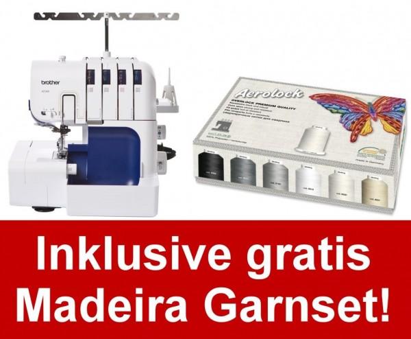 BROTHER 4234D Inkl. Madeira Garnbox