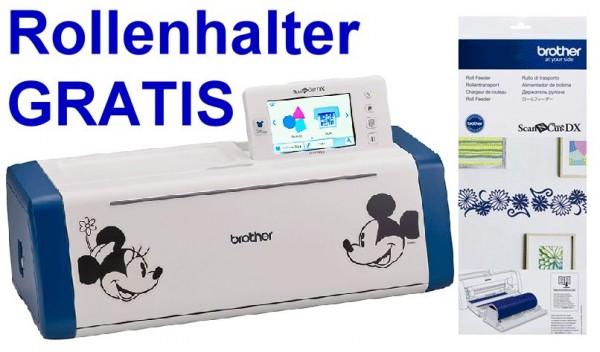 BROTHER Schneideplotter ScanNCut SDX2200D Disney inkl. SDX Rollenhalter