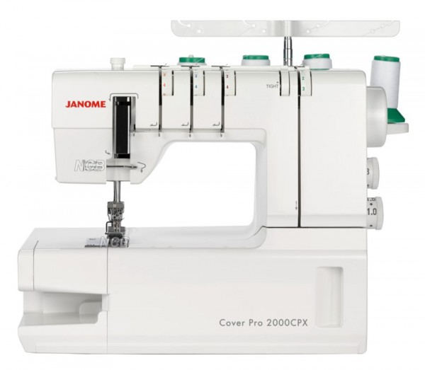 JANOME Cover Pro 2000 CPX mit Zubehör-Kit