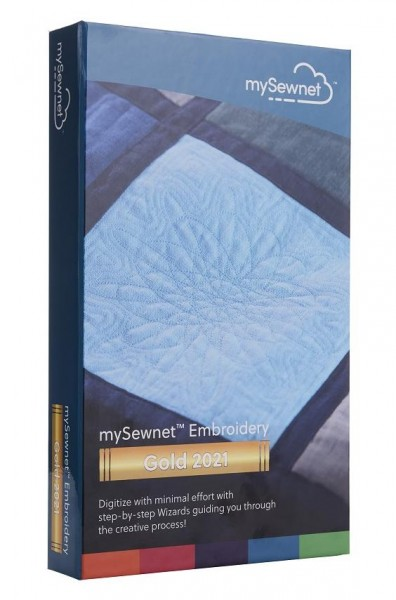 mySewnet Embroidery Gold 2021