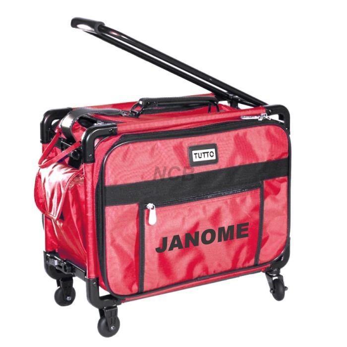 JANOME Trolley mittel rot