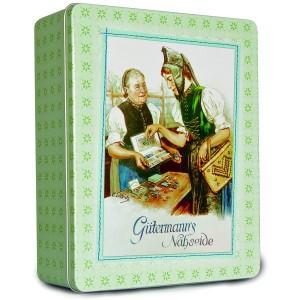 GÜTERMANN Nostalgiedose - grün, groß