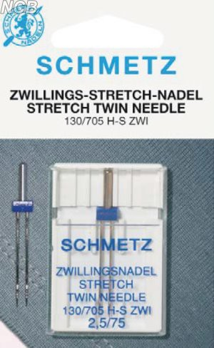 Zwillings-Stretch Nadeln