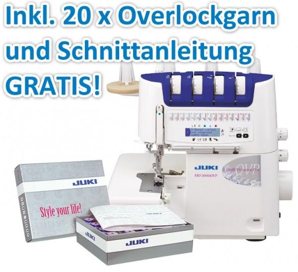 JUKI MO-2000 Overlock inkl. Garn-Box