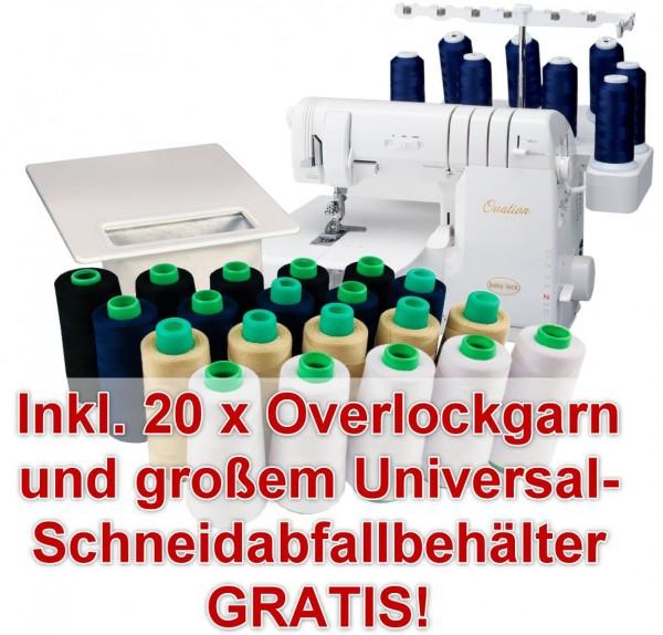 BABY LOCK Ovation BLE-S8 mit Gratis-Zubehörpaket
