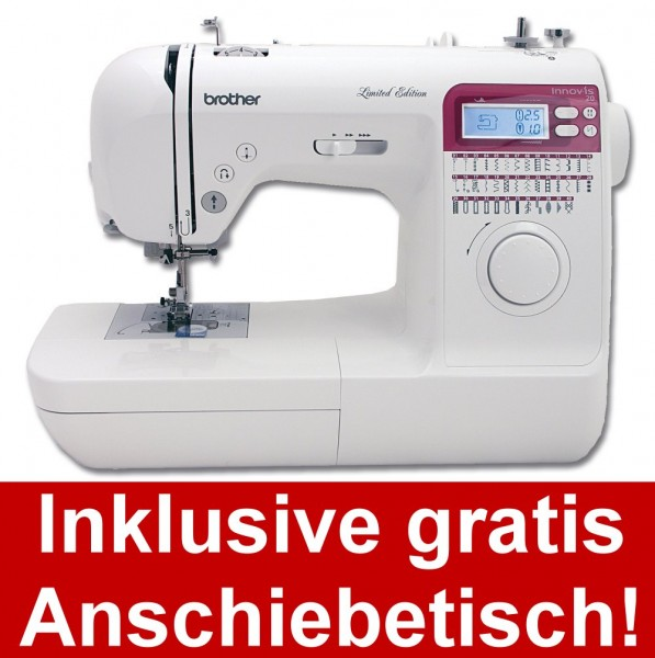 BROTHER Innov-is 20 LE inkl. Anschiebetisch