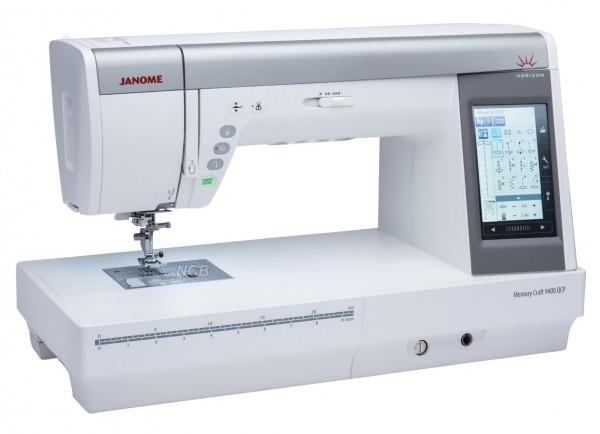 JANOME MC 9400QCP mit Upgrade Kit im Wert von 149,- €