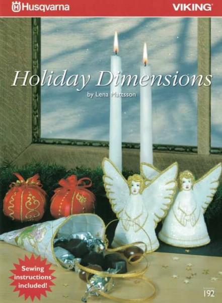HUSQVARNA VIKING Multiformat CD Holiday Dimensions