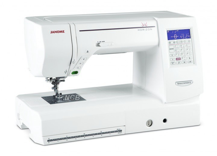 JANOME MC 8200 QC inkl. Bonus-Kit