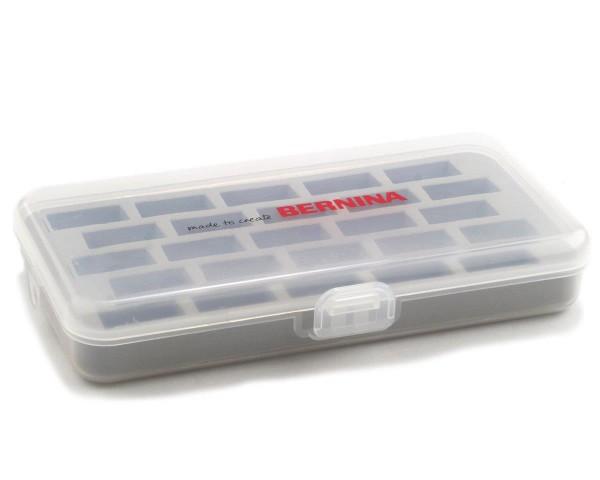BERNINA Spulenbox für 25 Jumbo-Spulen - transparent