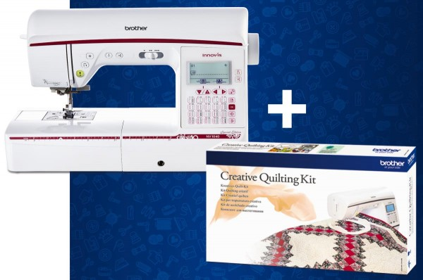 BROTHER Innov-is 1040 SE inkl. Creative Quilting Kit gratis