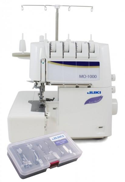 JUKI MO-1000 Overlock inkl. 6er Nähfußset