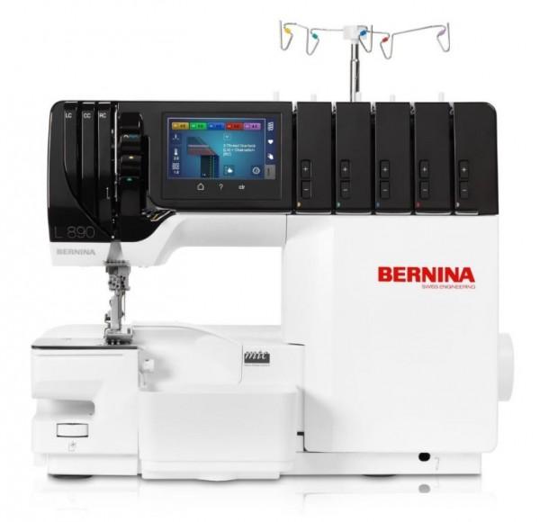 BERNINA L890 Overlock/Coverlock inkl. Trolley