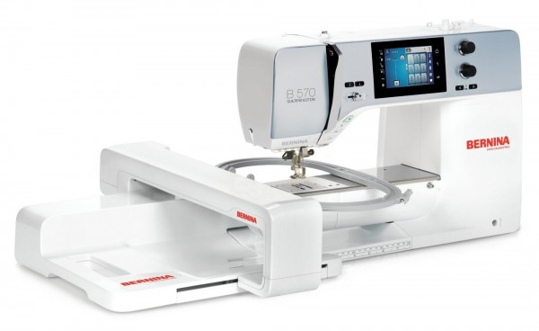 BERNINA 570 QE mit Stickmodul