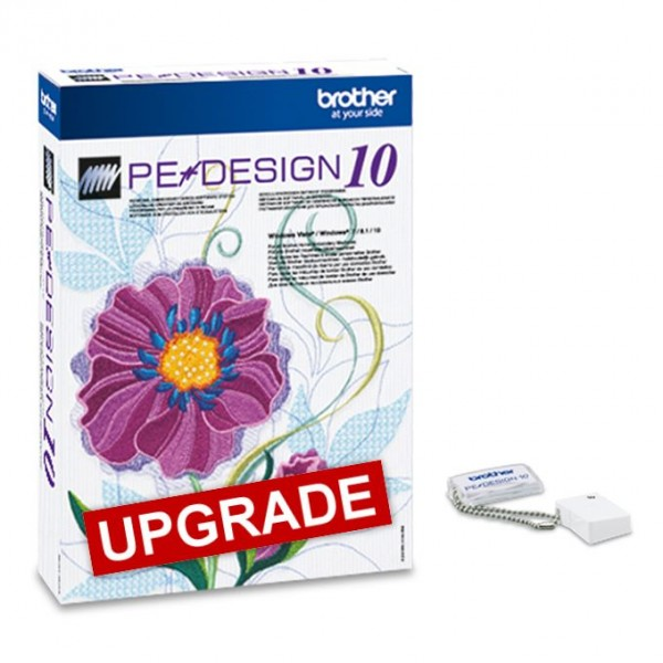 BROTHER PE-Design 10 Upgrade von 5, 6, 7, 8, NEXT