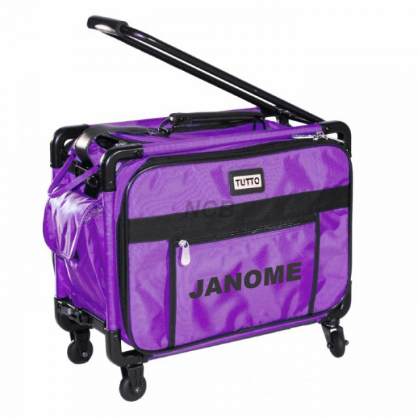 JANOME Trolley mittel lila