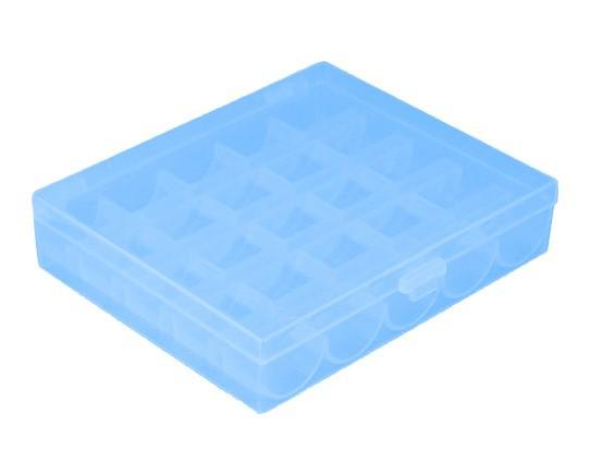Spulenbox für 25 Spulen - blau