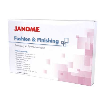 JANOME Fashion and Finishing Kit (9 mm)