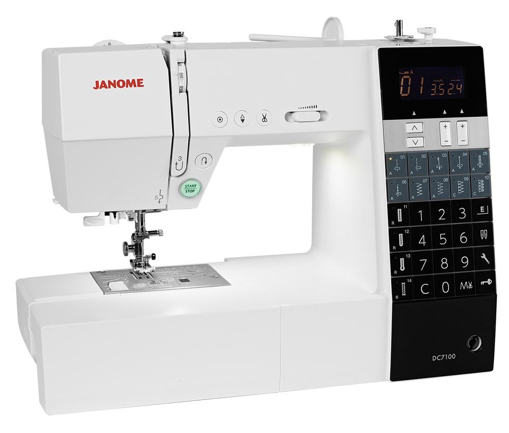 JANOME Decor Computer 7100  NAEHMASCHINENCENTERDE ~ Nähmaschine Center