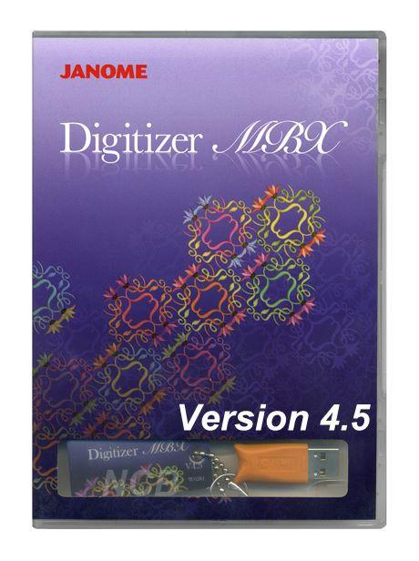 JANOME Digitizer MBX V4.5 - Auslaufmodell