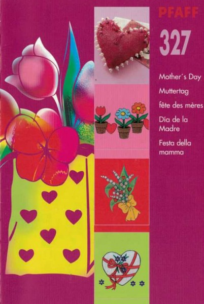 PFAFF creative card Muttertag 327