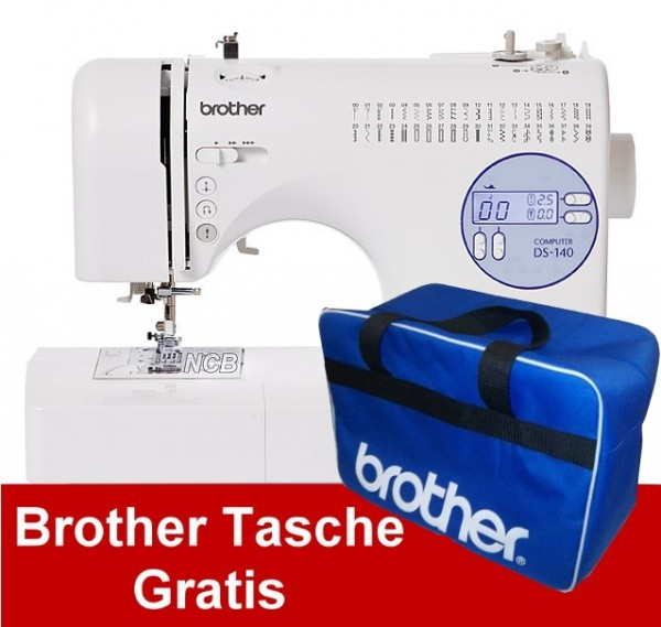 BROTHER DS-140 inkl Tragetasche - Gratis