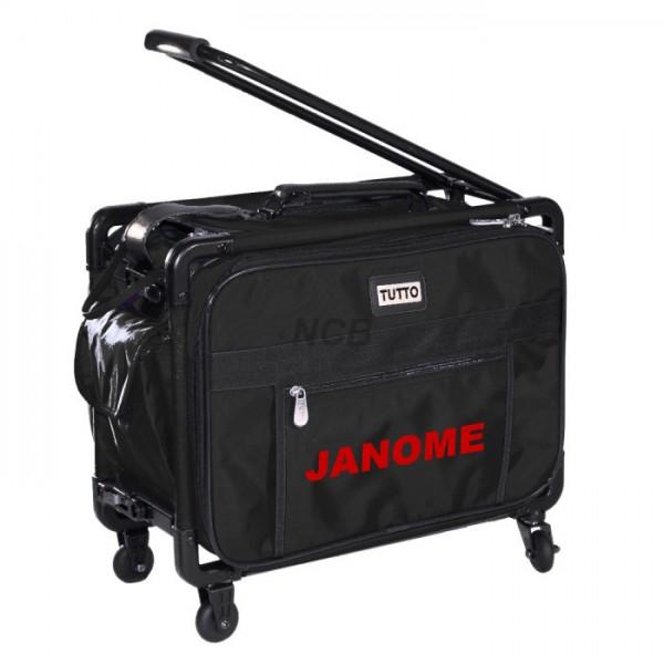 JANOME Trolley mittel schwarz