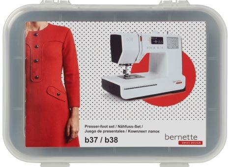 BERNETTE Nähfuß-Set für bernette b37 und b38