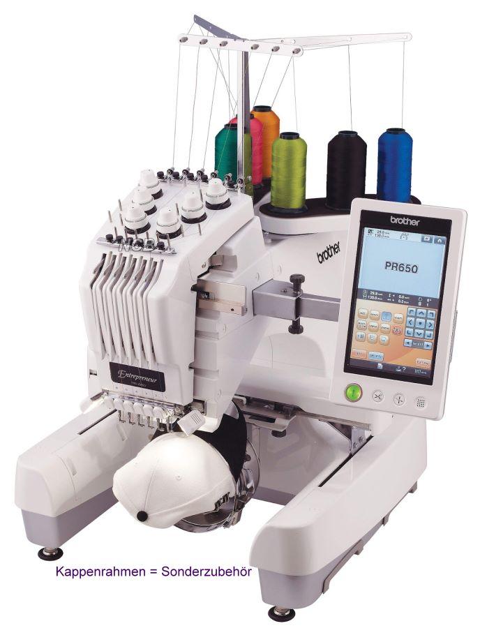 BROTHER PR655  Stickmaschine mit 6 Nadeln  ~ Nähmaschine Center