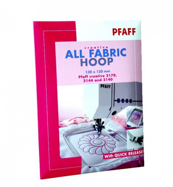 PFAFF Creative All Fabric Hoop 130 x 130 mm