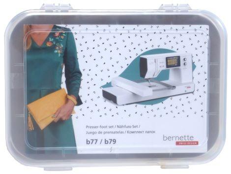 BERNETTE Nähfuß-Set für bernette b77 und b79