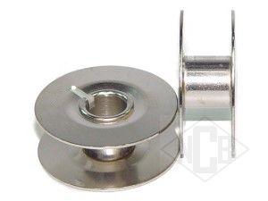 Blaue Spulen und Metall Spulen für Pfaff hobbymatic Nähmaschine Spulenkapsel
