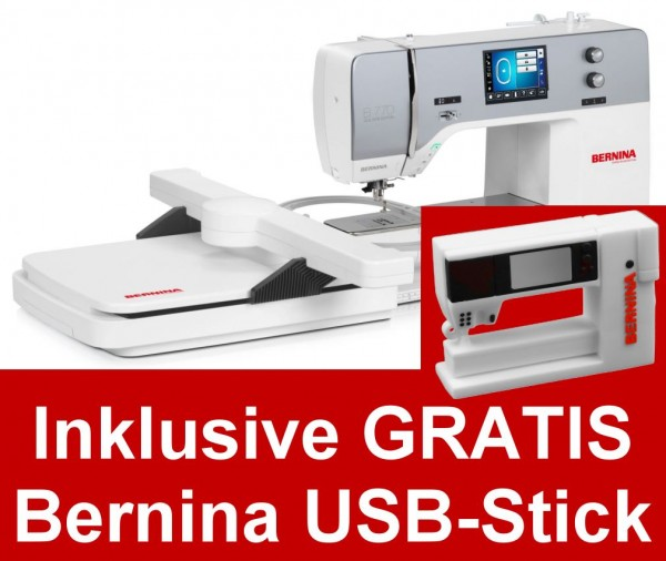 BERNINA 770 Quilters Edition mit Stickmodul