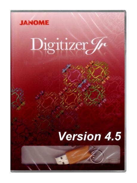 JANOME Digitizer Junior V4.5 - Auslaufmodell