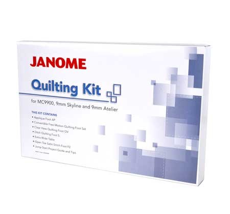 JANOME Quilting Kit (9 mm)