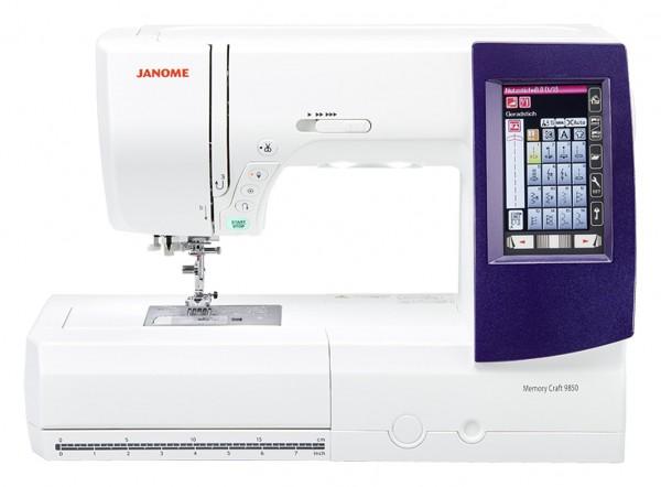 JANOME MC 9850 Näh- und Stickmaschine
