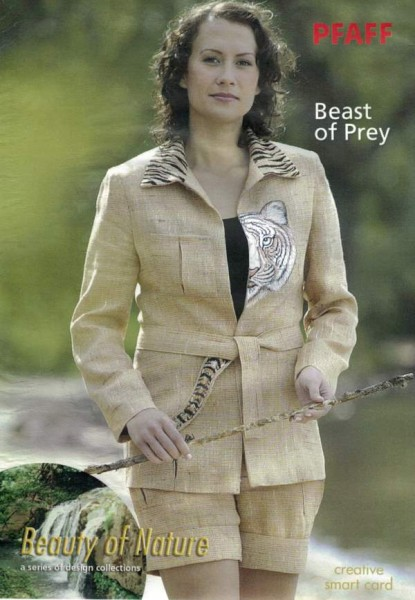 PFAFF Creative Smart Card Beast of Prey