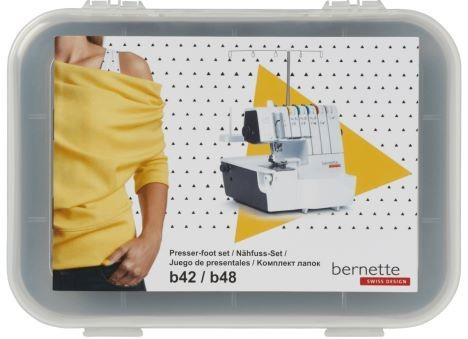 BERNETTE Nähfuss-Set für b42 und b48