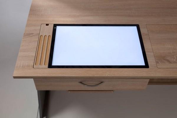 LED LightPad mit Stiftablage für MULTI GREAT