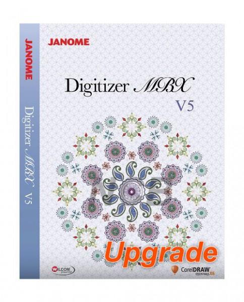 JANOME Upgrade Digitizer Junior 3, 4.x, 5 auf MBX V5