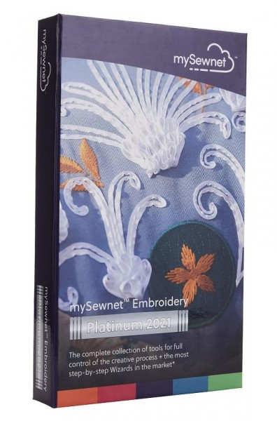 mySewnet Embroidery Platinum 2021