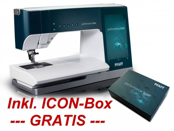 PFAFF Performance ICON mit ICON-Box GRATIS