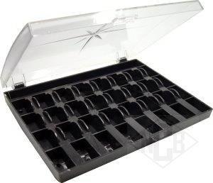 Spulenbox für 32 Spulen