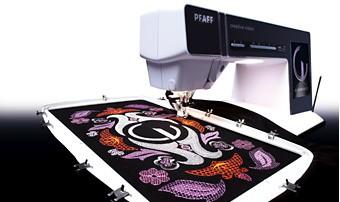 PFAFF Creative Deluxe Hoop 360 x 200 mm