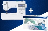 BROTHER Innov-is A80E inkl. Creative Quilting Kit gratis