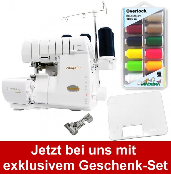 BABY LOCK Enlighten mit Geschenk-Set