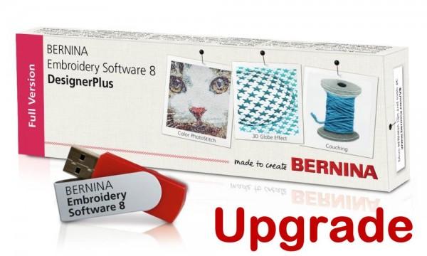 BERNINA Upgrade von EditorPlus V5/6/7 auf DesignerPlus V8