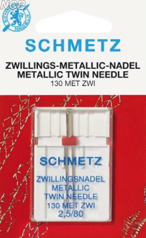 Zwillings-Metallic Nadeln